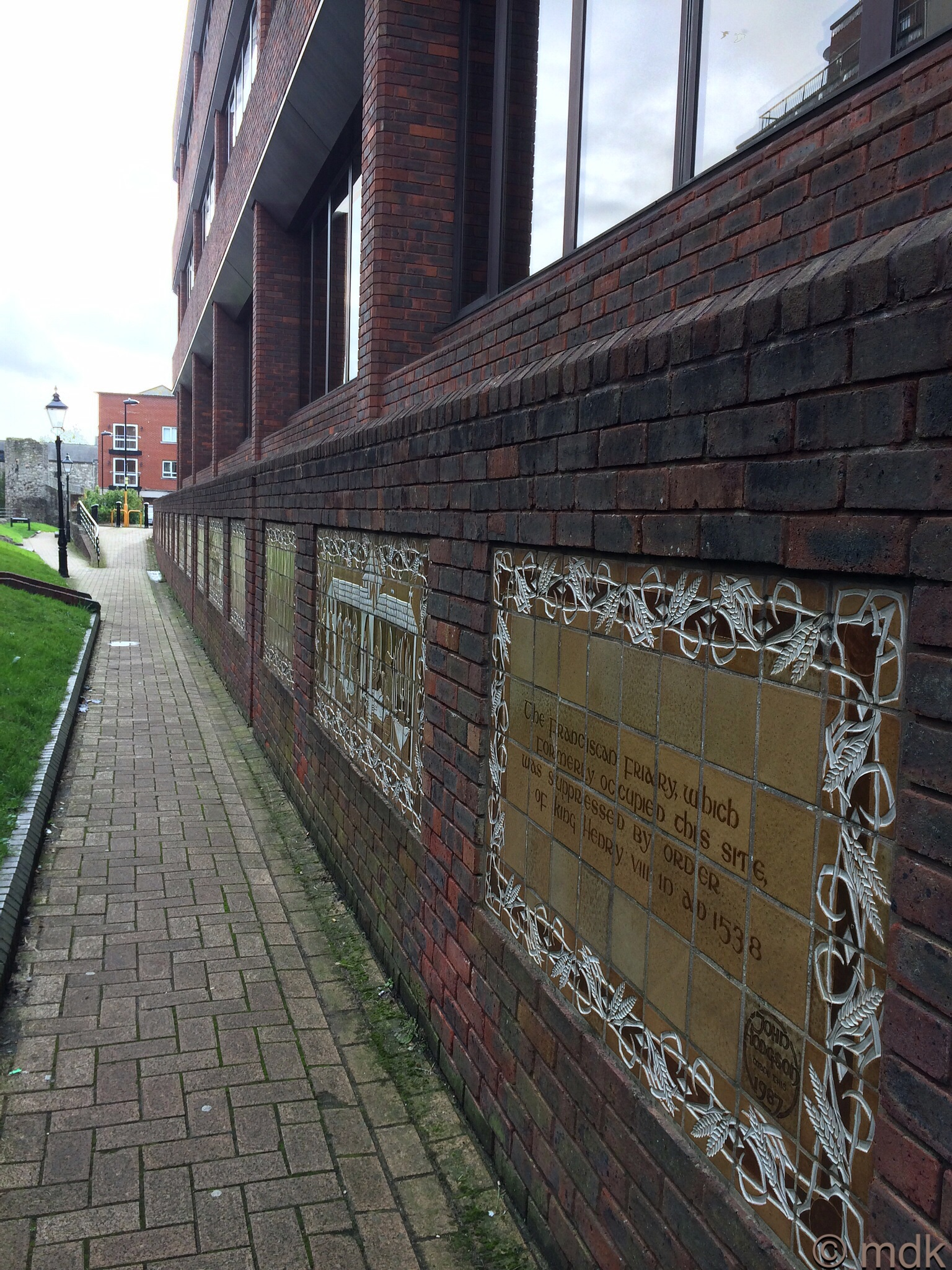 Commemorative tiles