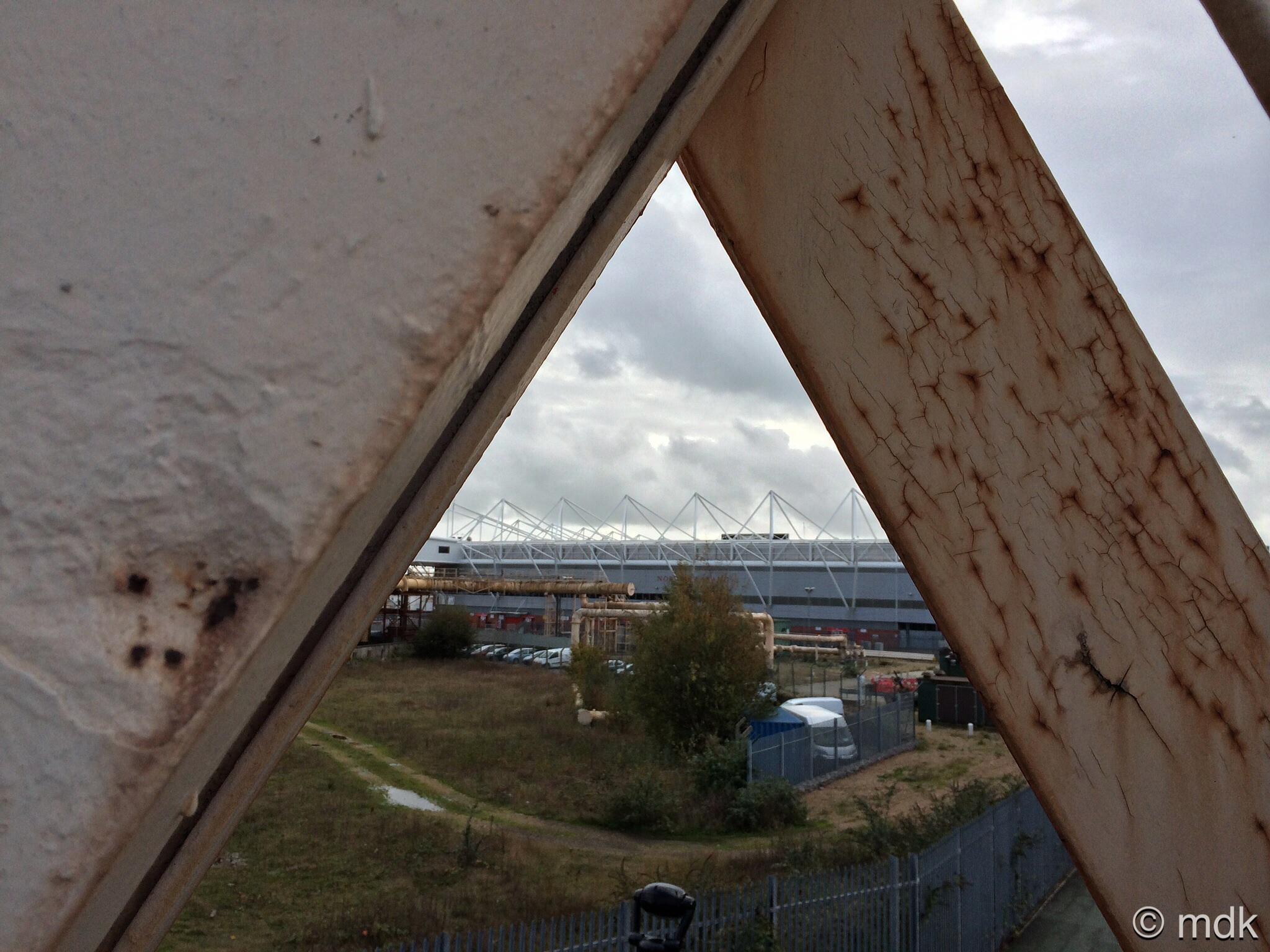A glimpse of the new Southampton stadium