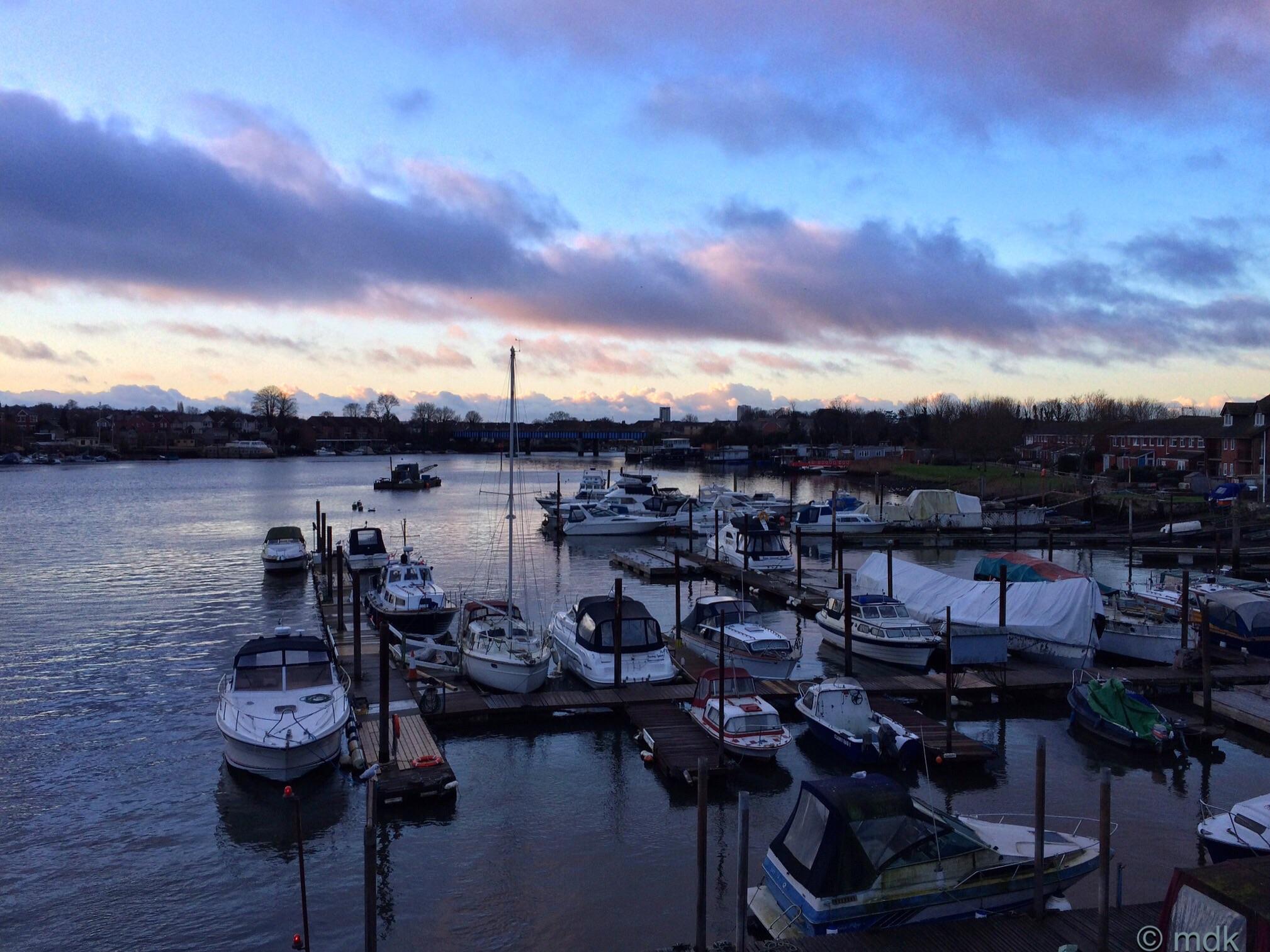 Wednesday morning on Cobden Bridge