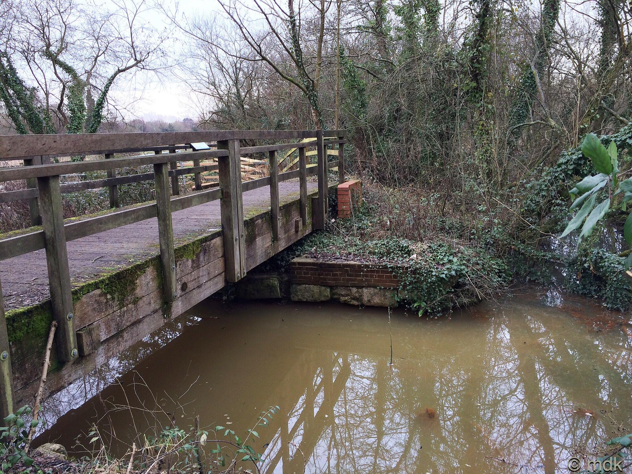 The tail og Mansbridge Lock