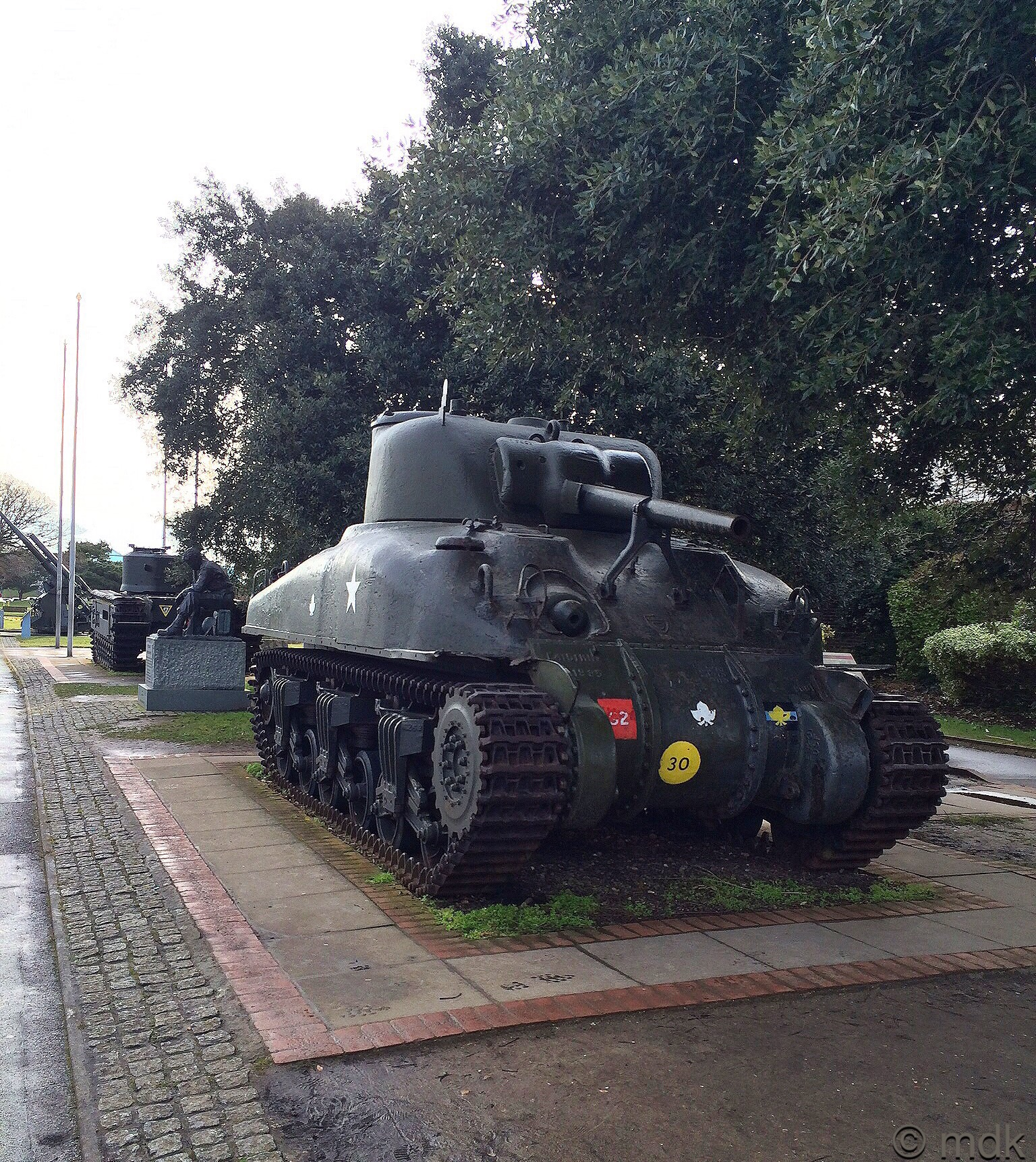 Tanks outside the D-Day Museum