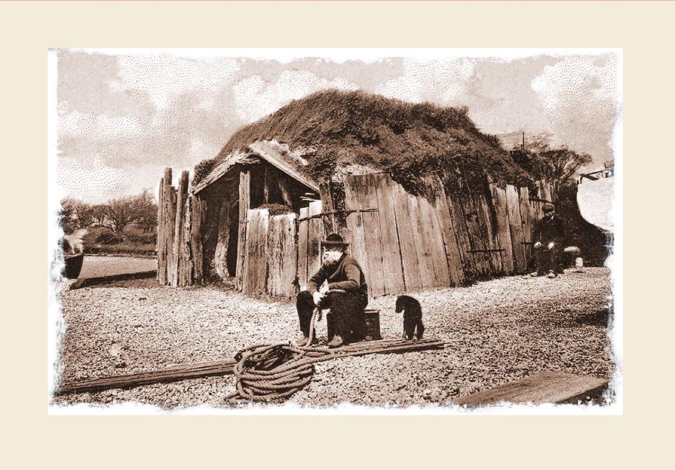 The seaweed hut