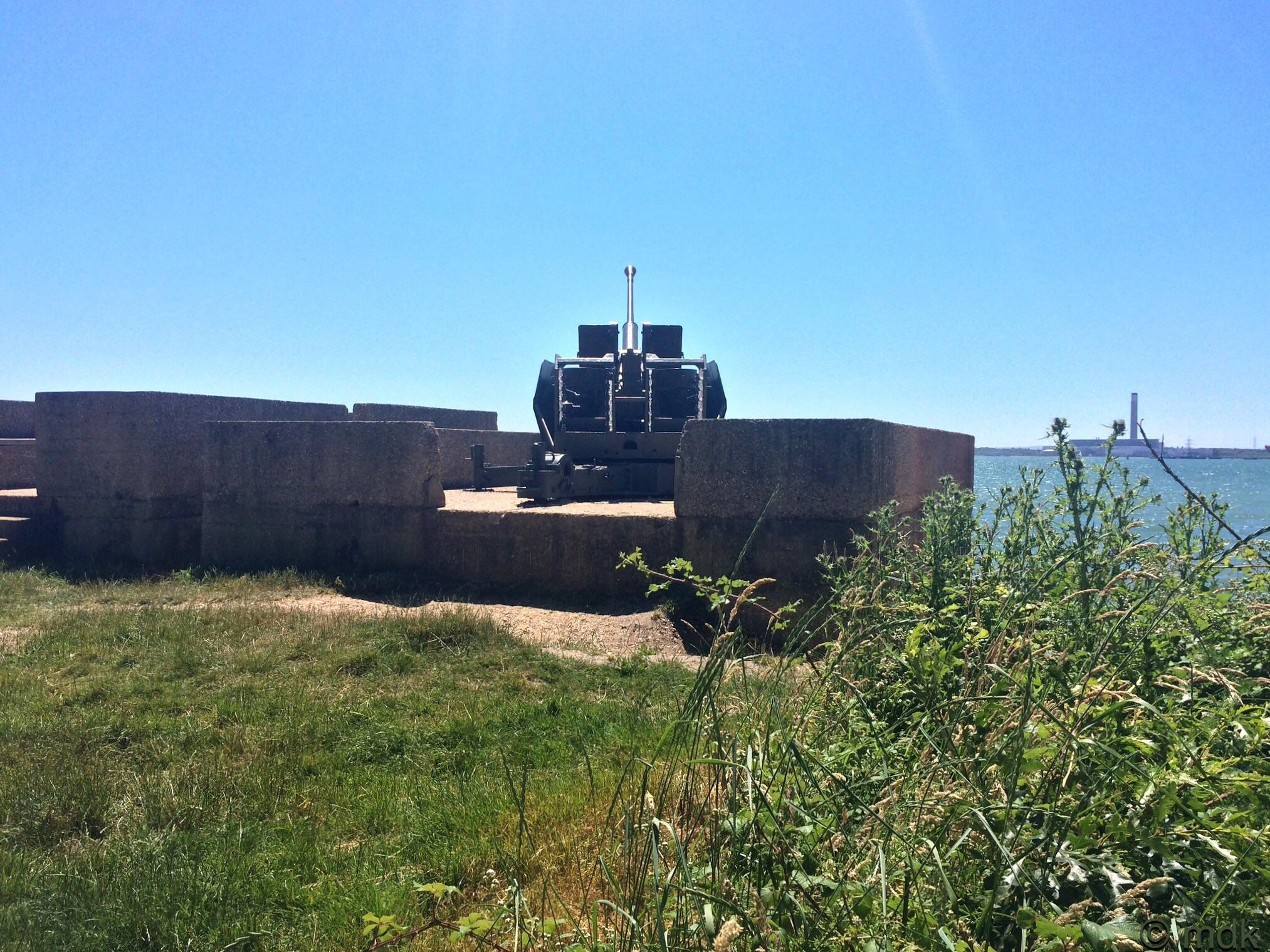 Bofors Gun, Hamble