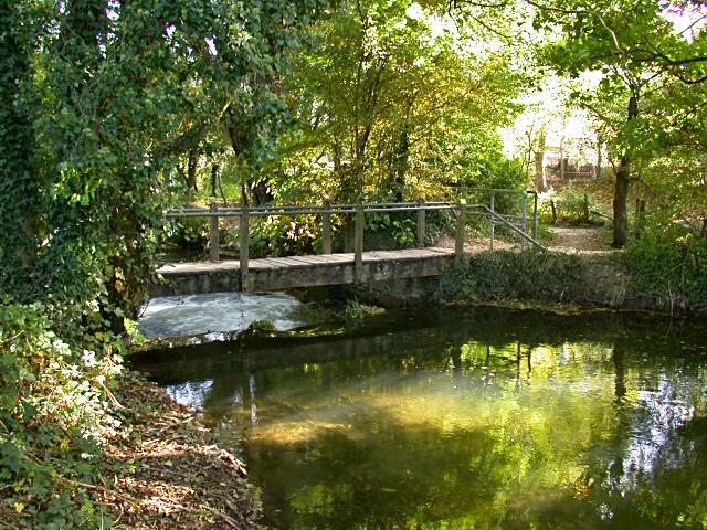 The original bridge with kind permission of Peter Oates
