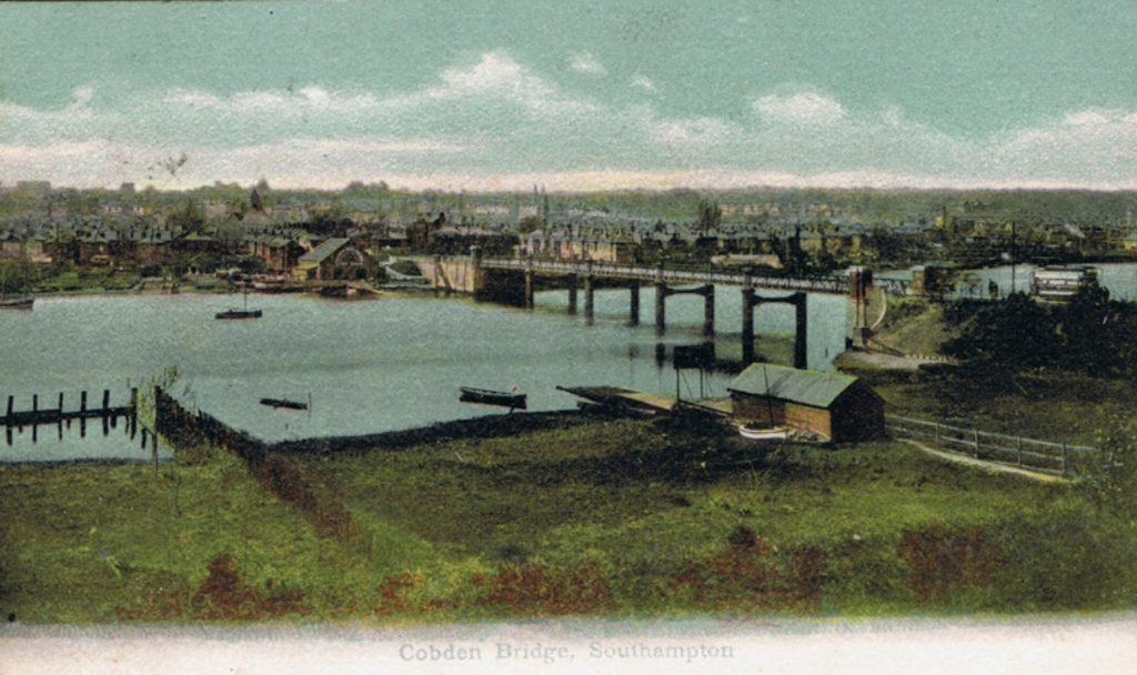 The original Cobden Bridge
